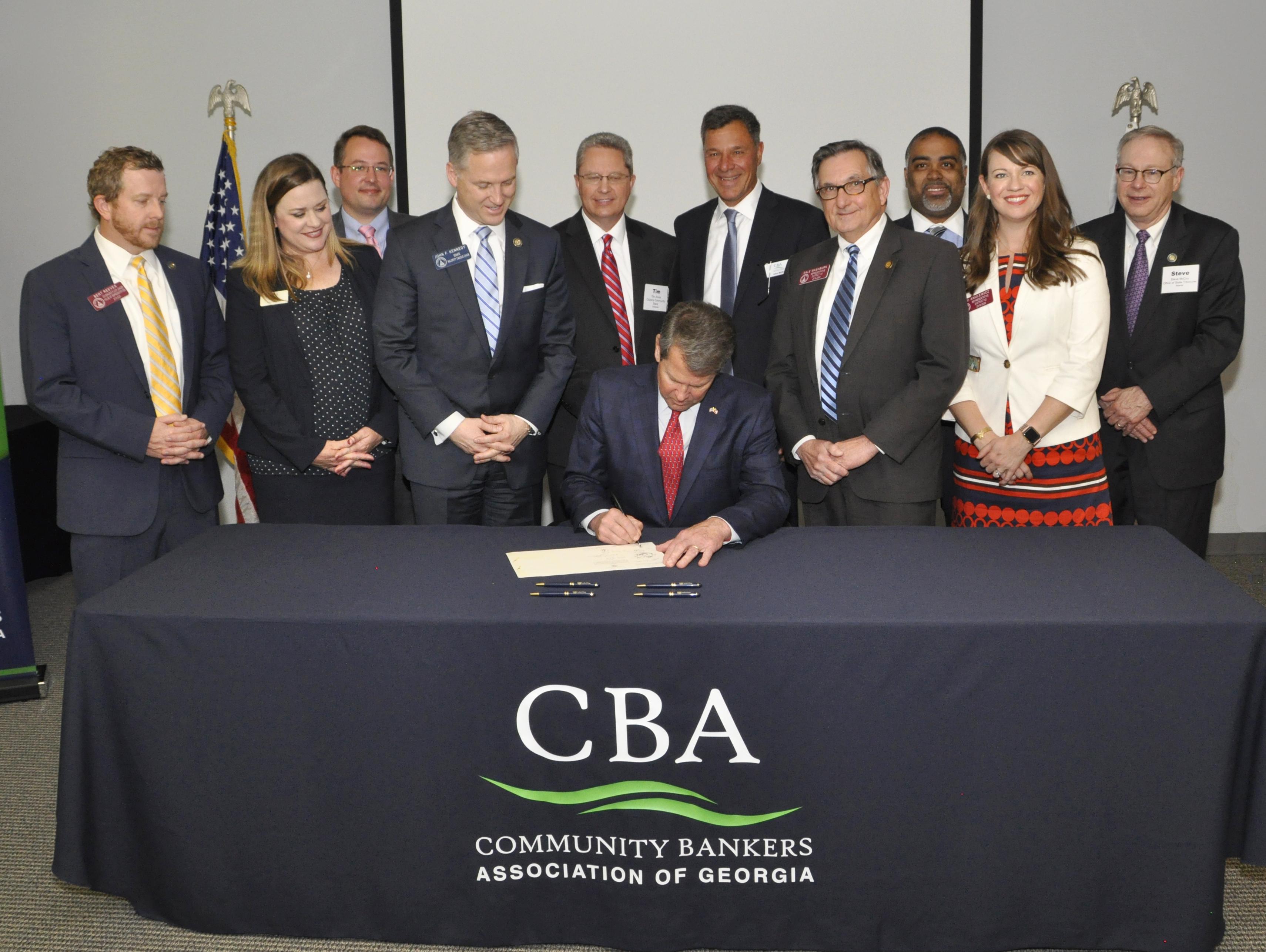 SB 157 Signing